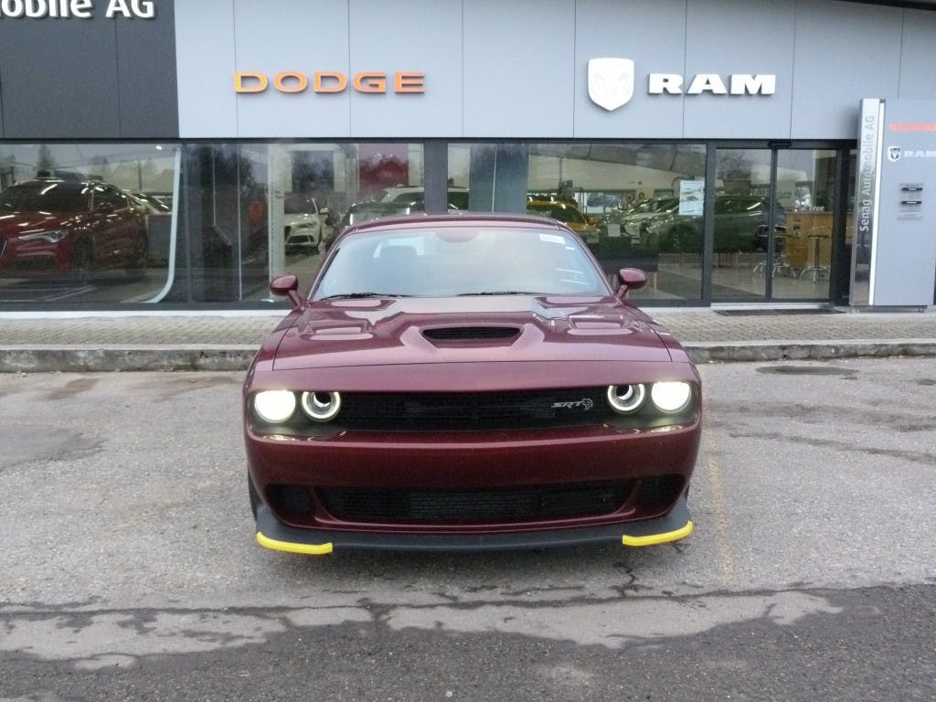 coupe Dodge USA Challenger SRT Hellcat