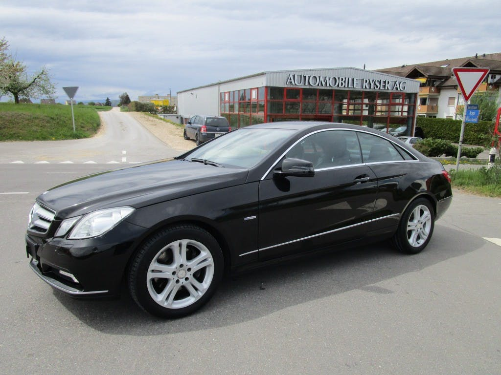 coupe Mercedes-Benz E-Klasse E 350 CDI BlueEfficiency 7G-Tronic