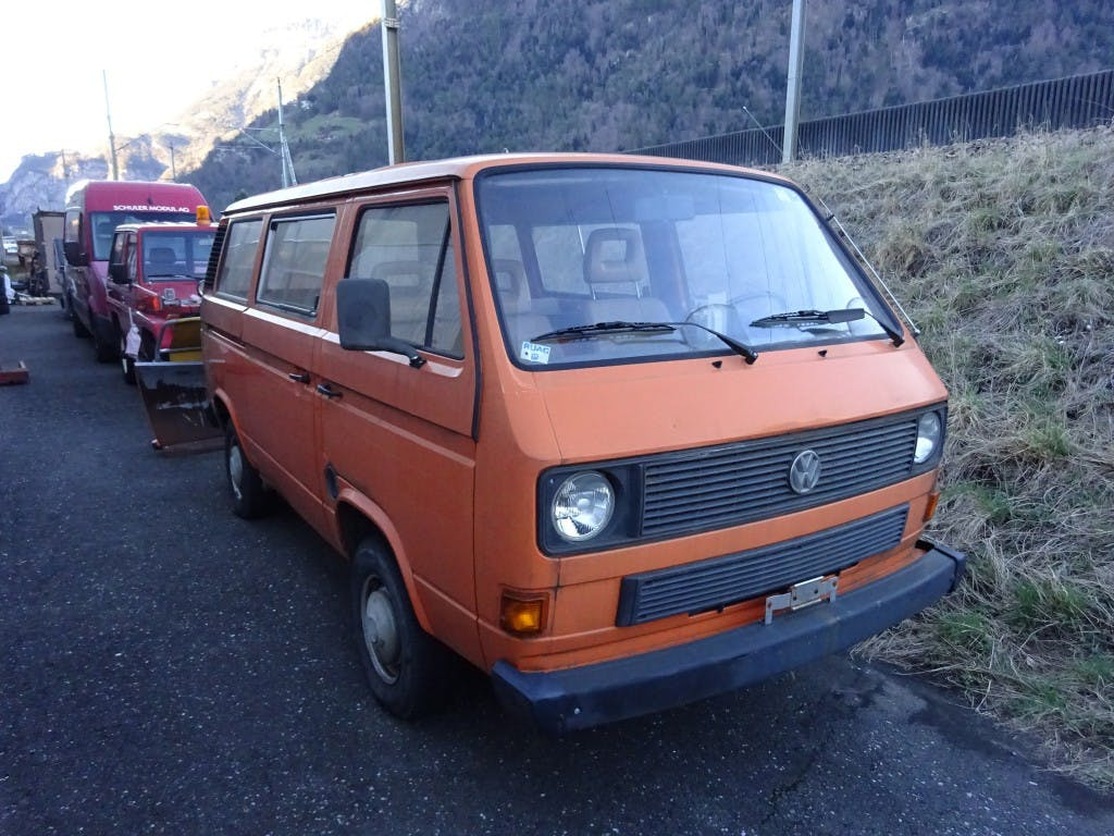 bus VW Typ 2 T3 2.1