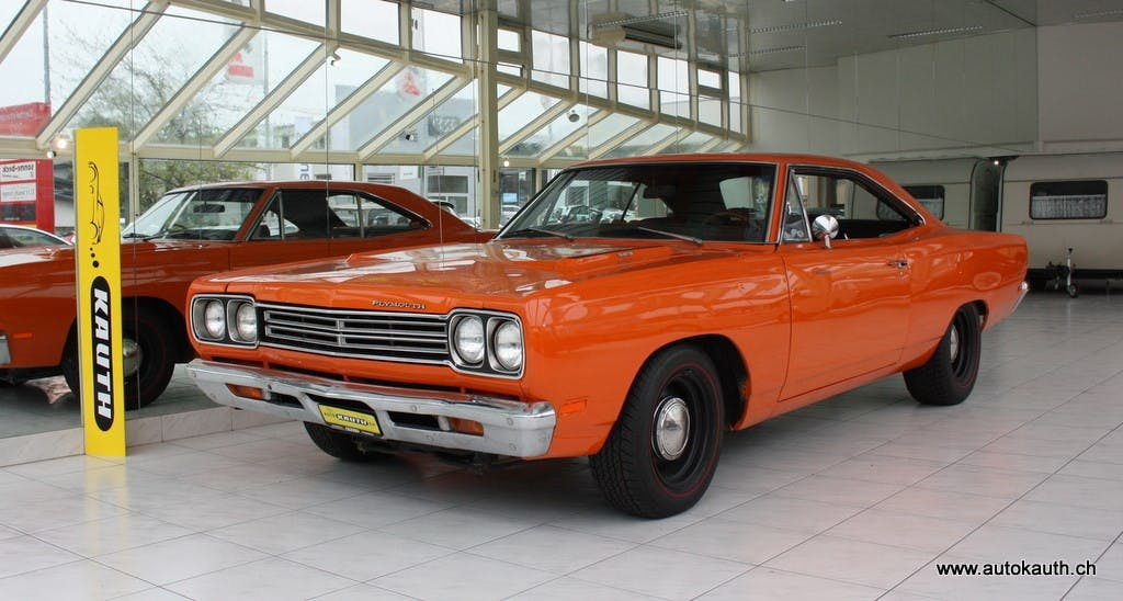 coupe Plymouth Road Runner Roadrunner Hardtop Coupe 383CID 4-Gang 1969