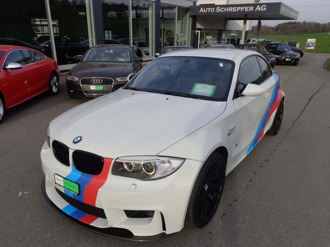 coupe BMW 1er M