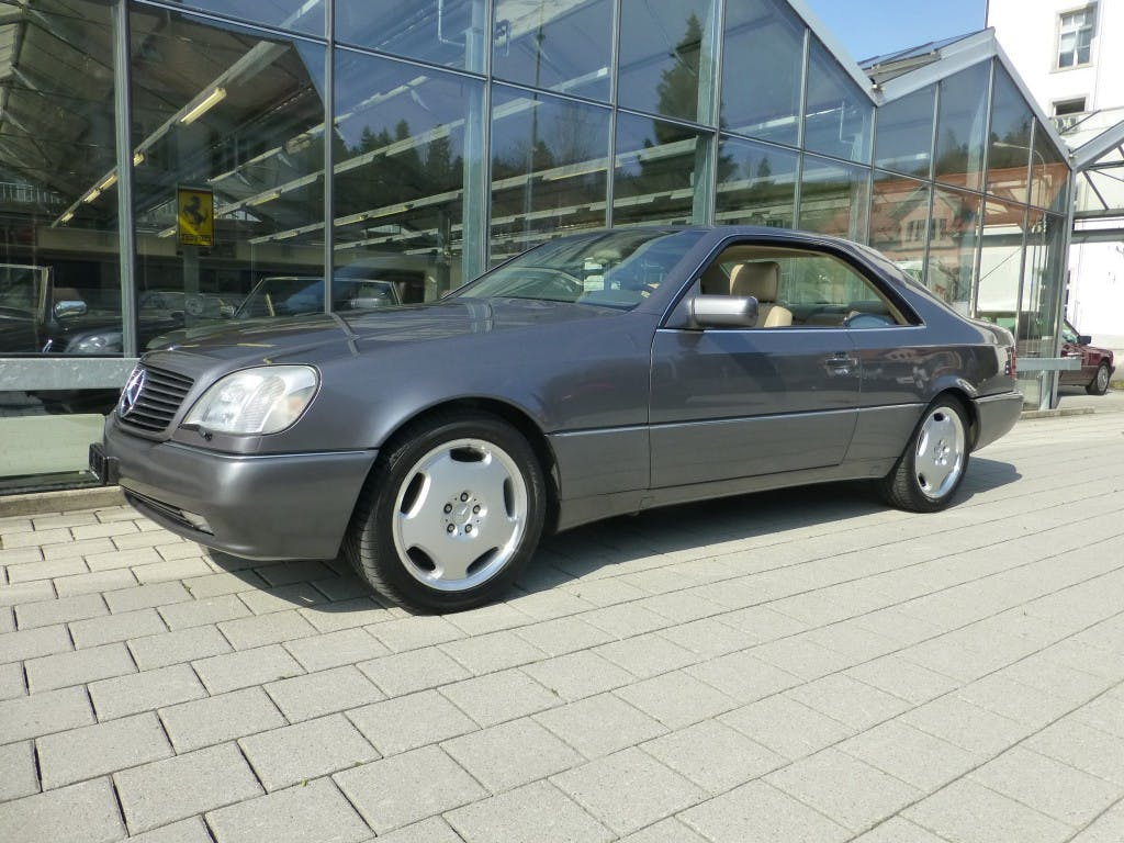 coupe Mercedes-Benz CL CL (S) 500 Automatic