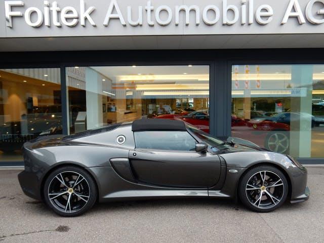 cabriolet Lotus Exige S Roadster