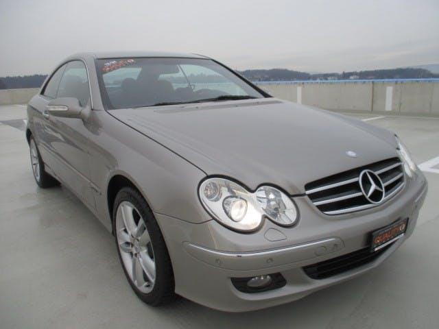 coupe Mercedes-Benz CLK 200 Kompressor Avantgarde