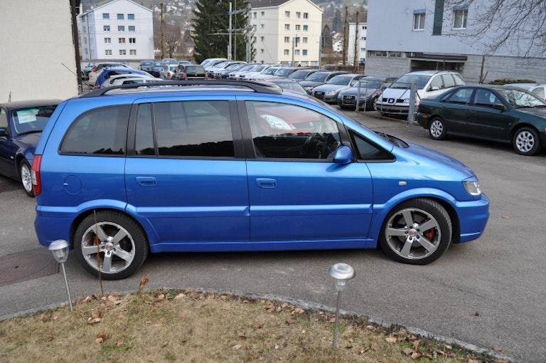 Opel Zafira 2.0 16V Tbo OPC 130'100 km 6'500 CHF - kaufen auf carforyou.ch - 1