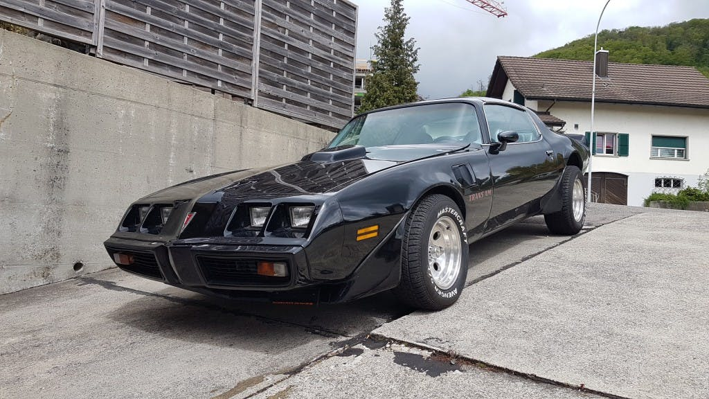 coupe Pontiac Firebird Trans Am 6.6 Targa