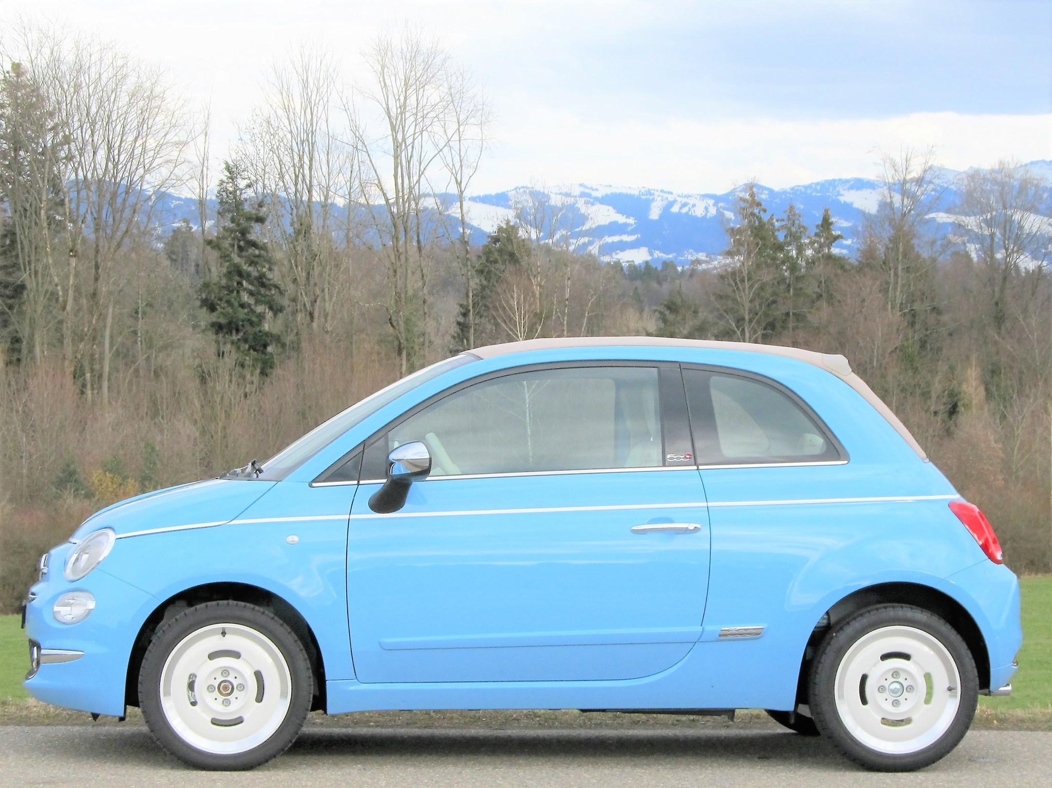 cabriolet Fiat 500 C 0.9 Twinair Turbo Spiaggina 58