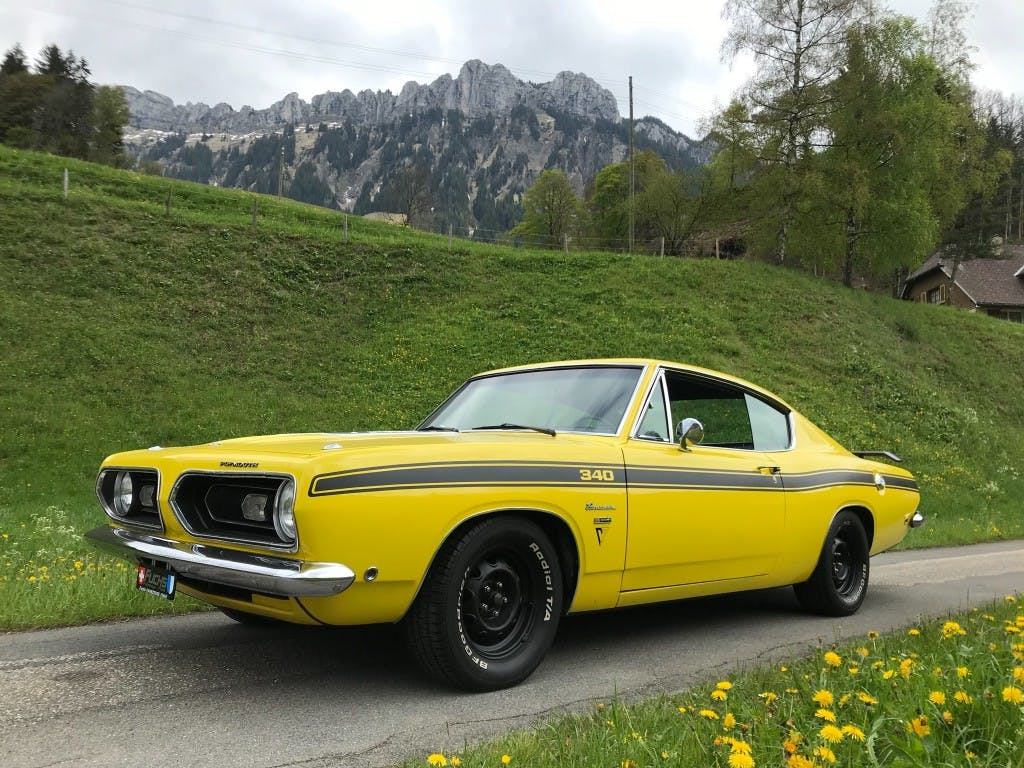 coupe Plymouth Barracuda FASTBACK