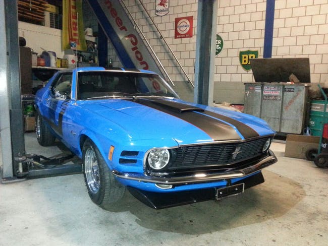 coupe Ford Mustang Mustang