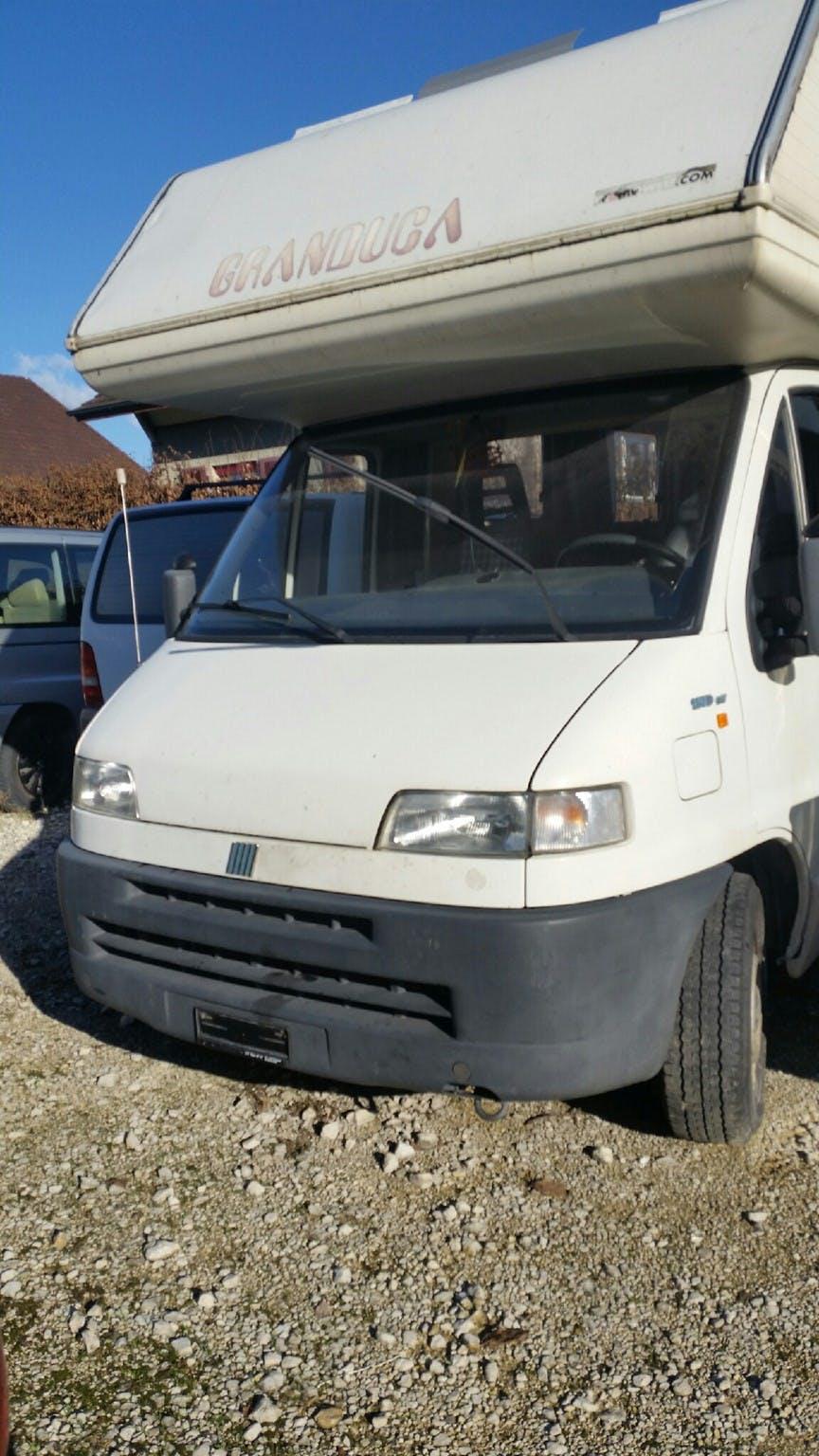 bus Fiat Ducato Womo Alko Diesel