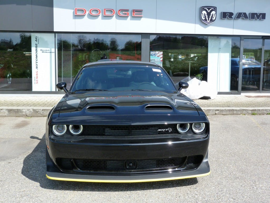 coupe Dodge USA Challenger Hellcat Widebody