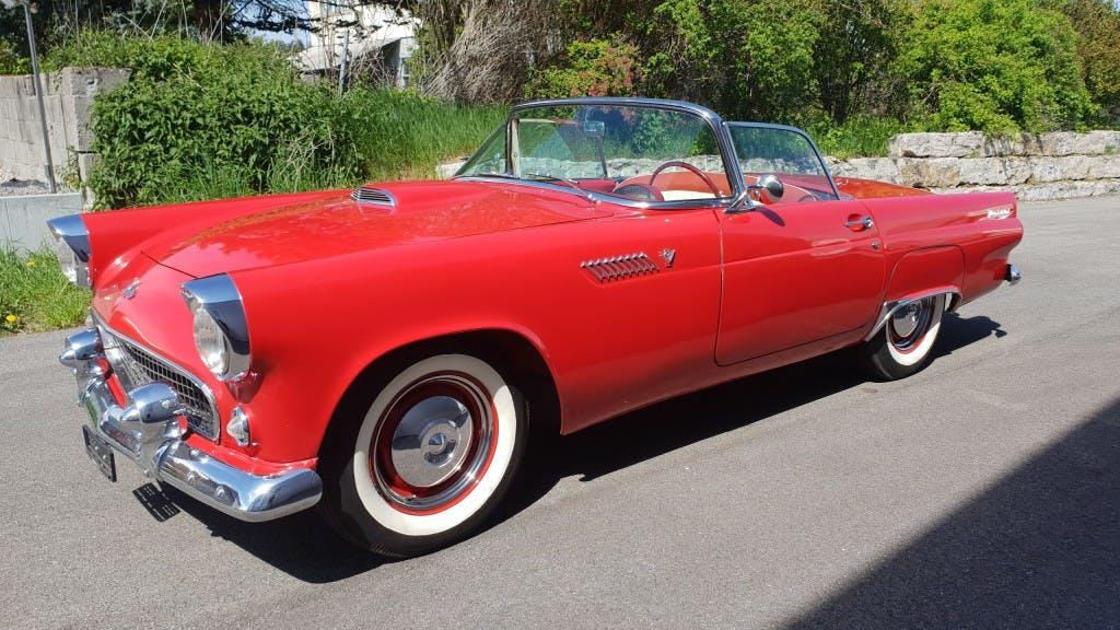 cabriolet Ford Thunderbird 1955 Veteran