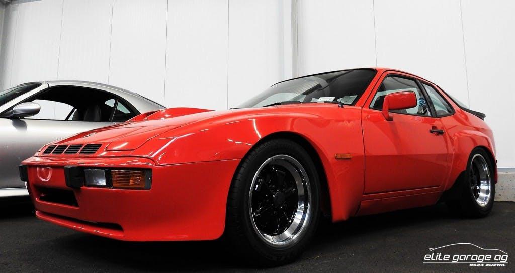 coupe Porsche 924 Carrera GT