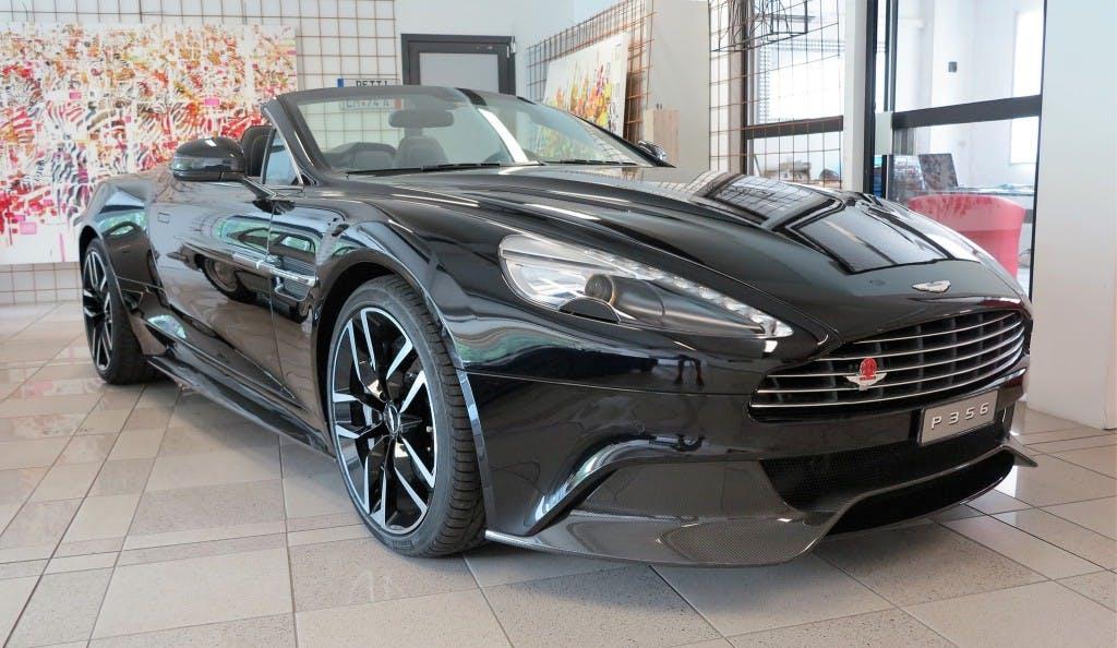 cabriolet Aston Martin Vanquish Volante V12 5.9-48 Touchtronic 3