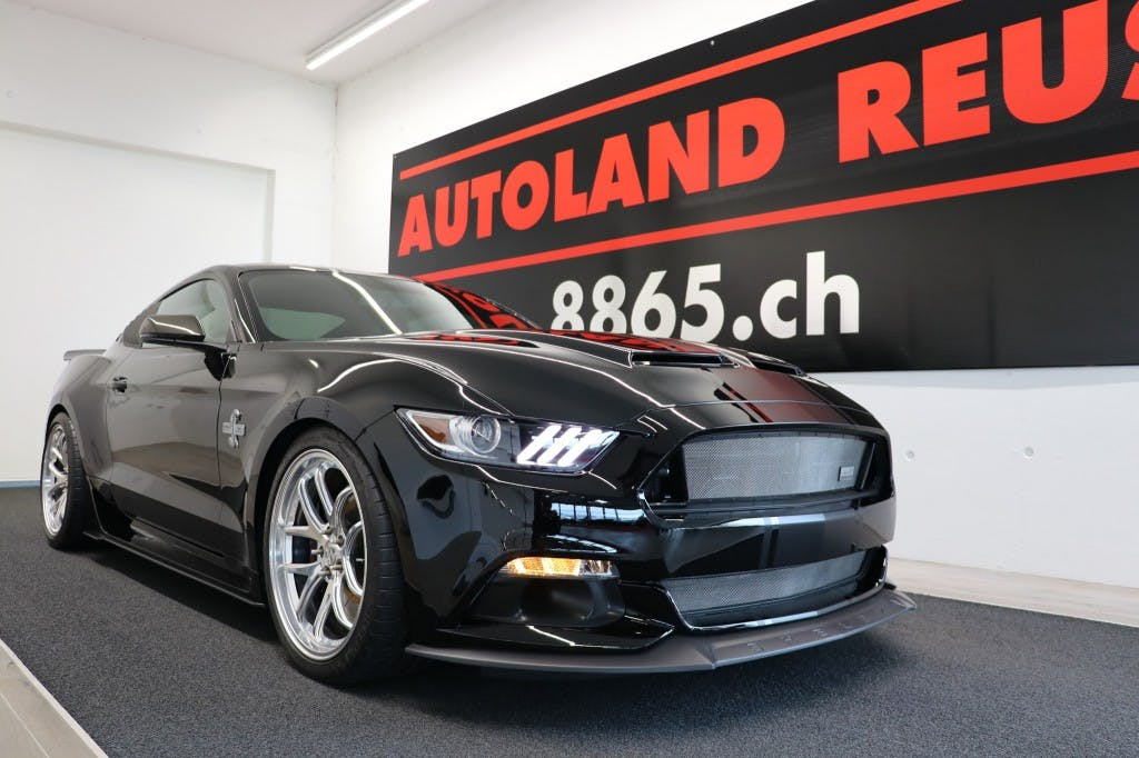 coupe Ford Mustang SHELBY SUPER SNAKE 50Y ANNIV.750PS 6-GANG
