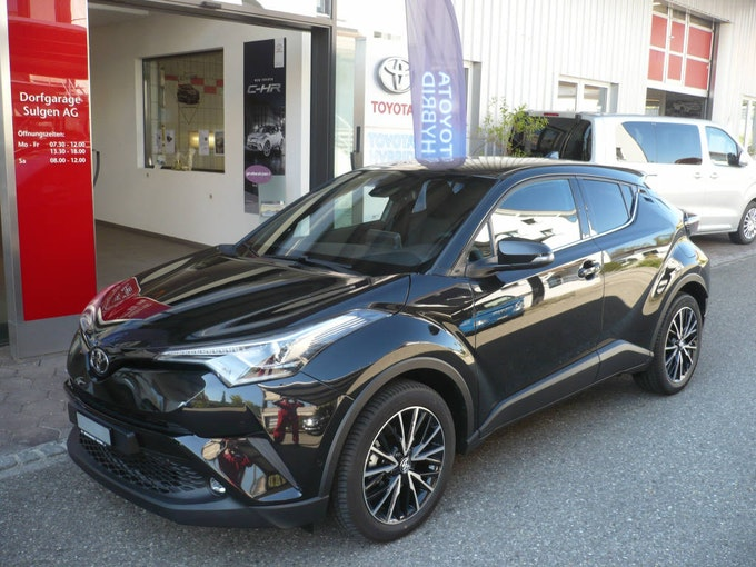 Toyota C-HR 1.2 T Premium 4x4 45 km 36'900 CHF - acheter sur carforyou.ch - 1