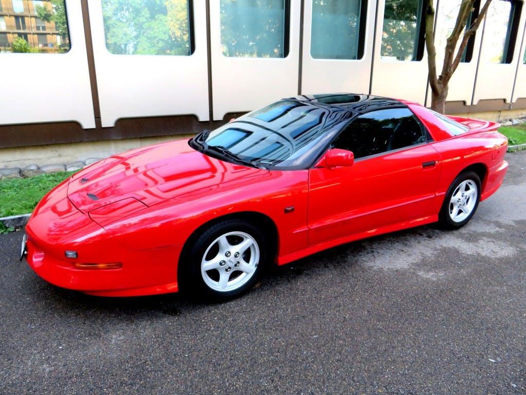 coupe Pontiac Firebird 5.7 V8 Trans Am