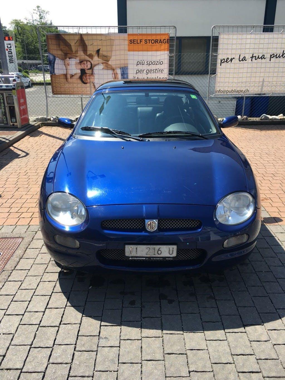 cabriolet MG MGF 1.8i VVC