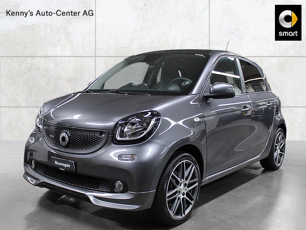saloon Smart Forfour Brabus 110PS twinamic