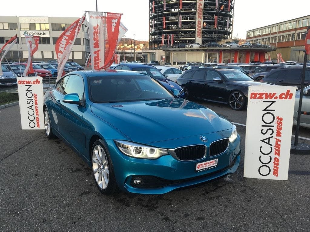 coupe BMW 4er 420i Coupé Steptronic