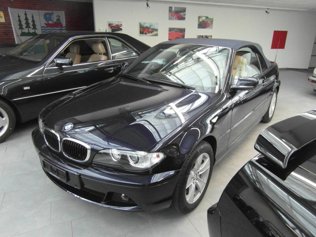 cabriolet BMW 3er 318Ci Cabriolet