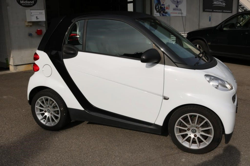 saloon Smart Fortwo black & white limited mhd softouch