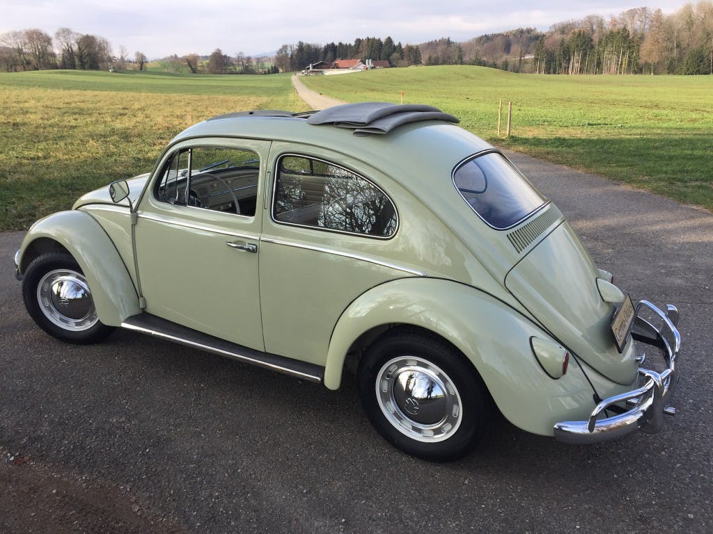 coupe VW Beetle Käfer Faltdach