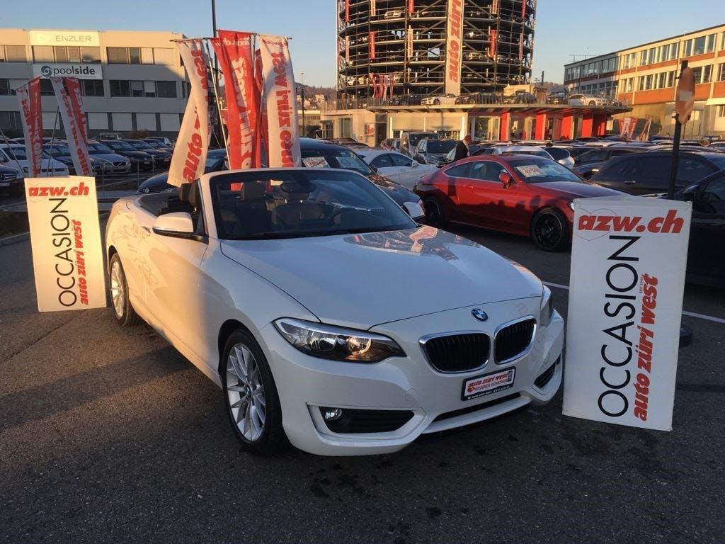 cabriolet BMW 2er 228i