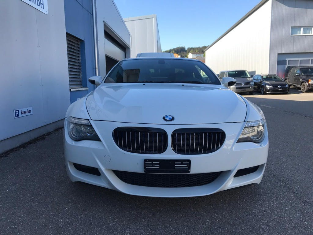 coupe BMW 6er M6 SMG