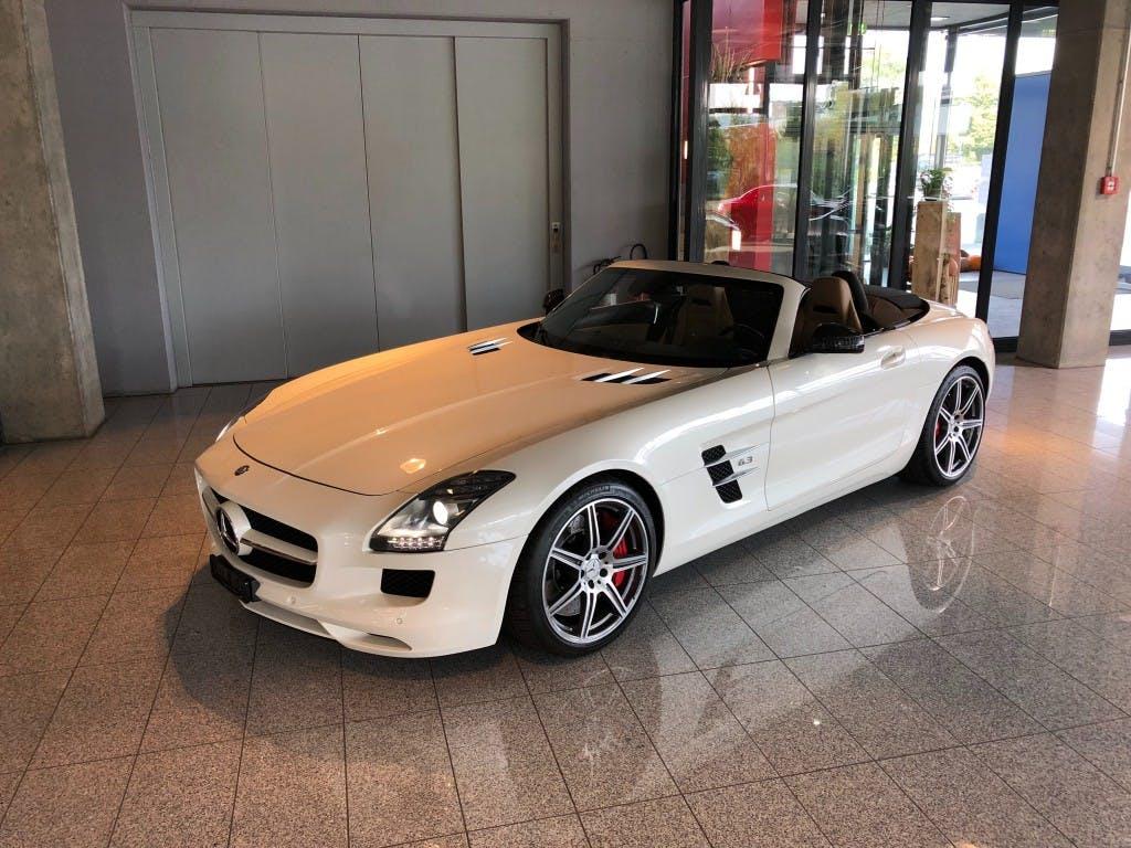 cabriolet Mercedes-Benz SLS 63 AMG Speedshift