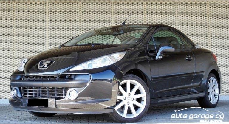 cabriolet Peugeot 207 CC 1.6 16V Roland Garros