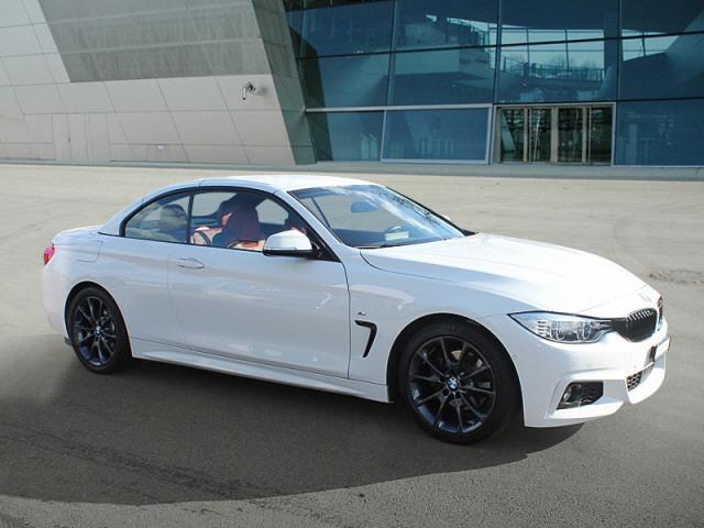 cabriolet BMW 4er 420d Cabrio M Sport