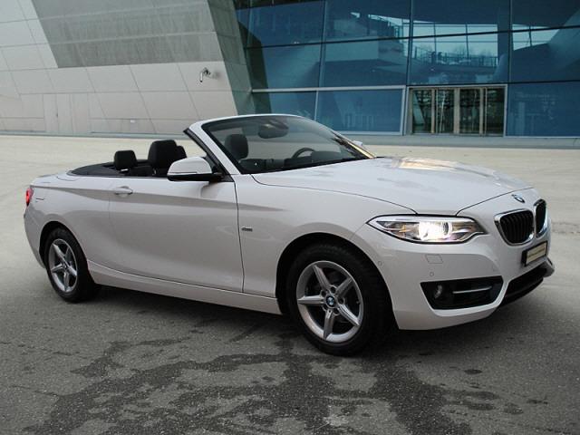 cabriolet BMW 2er 218i Sport Line