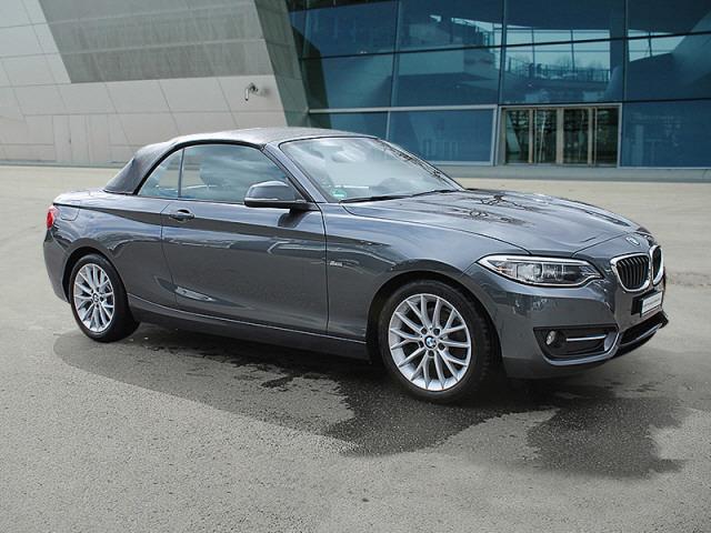 cabriolet BMW 2er 220d Sport Line