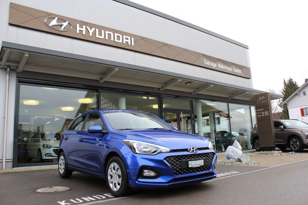 saloon Hyundai i20 1.0 T-GDi Origo DCT