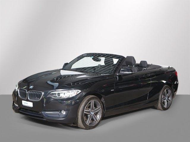 cabriolet BMW 2er 220 D SAG CABRIO