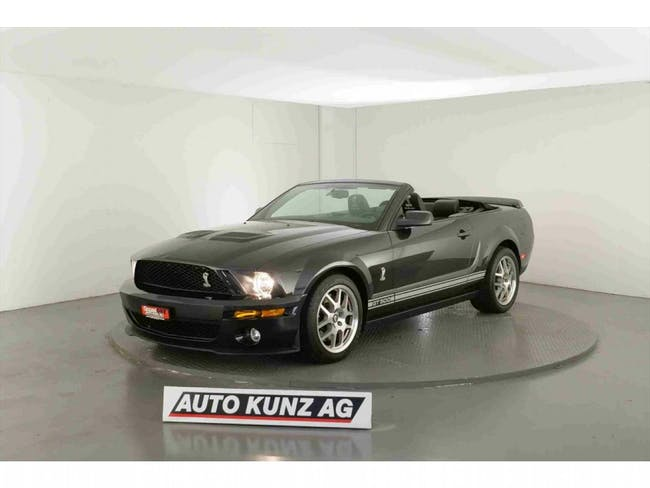 cabriolet Ford Mustang Shelby GT 500 Convertible