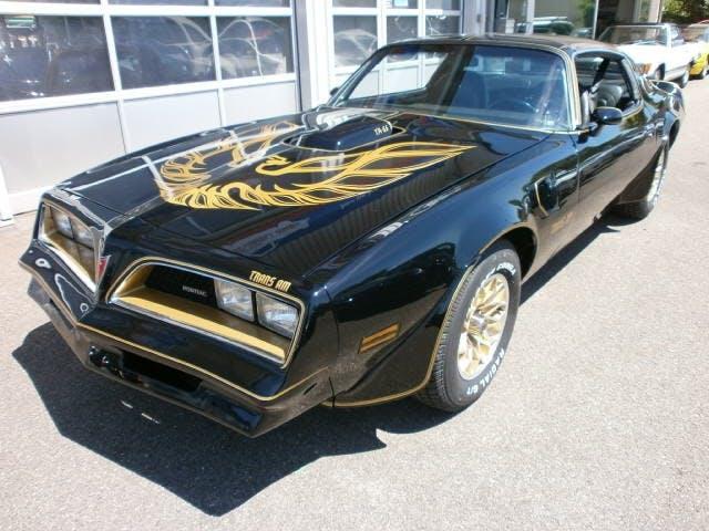 coupe Pontiac Firebird Trans Am