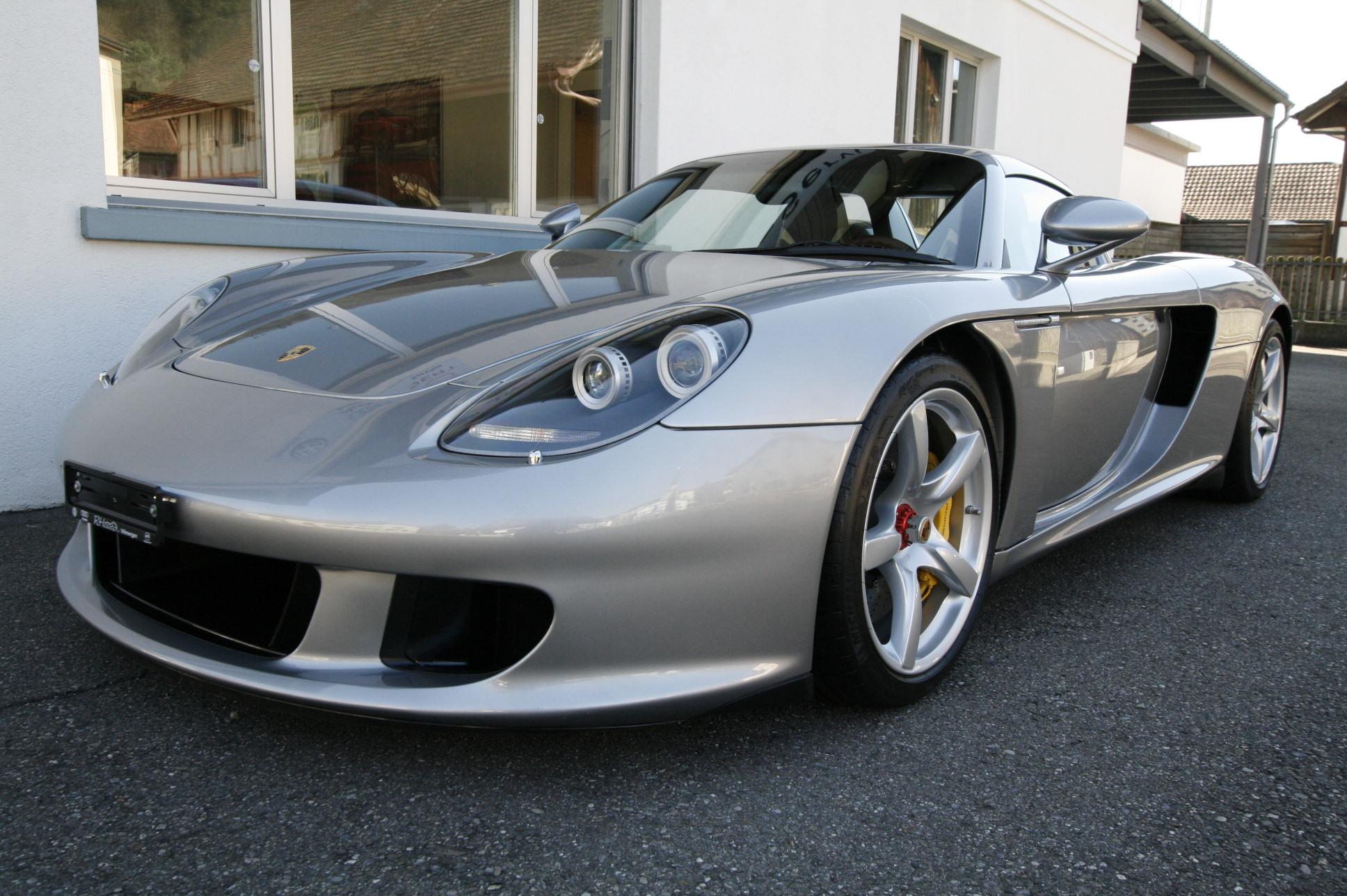 cabriolet Porsche Carrera GT Carrera GT