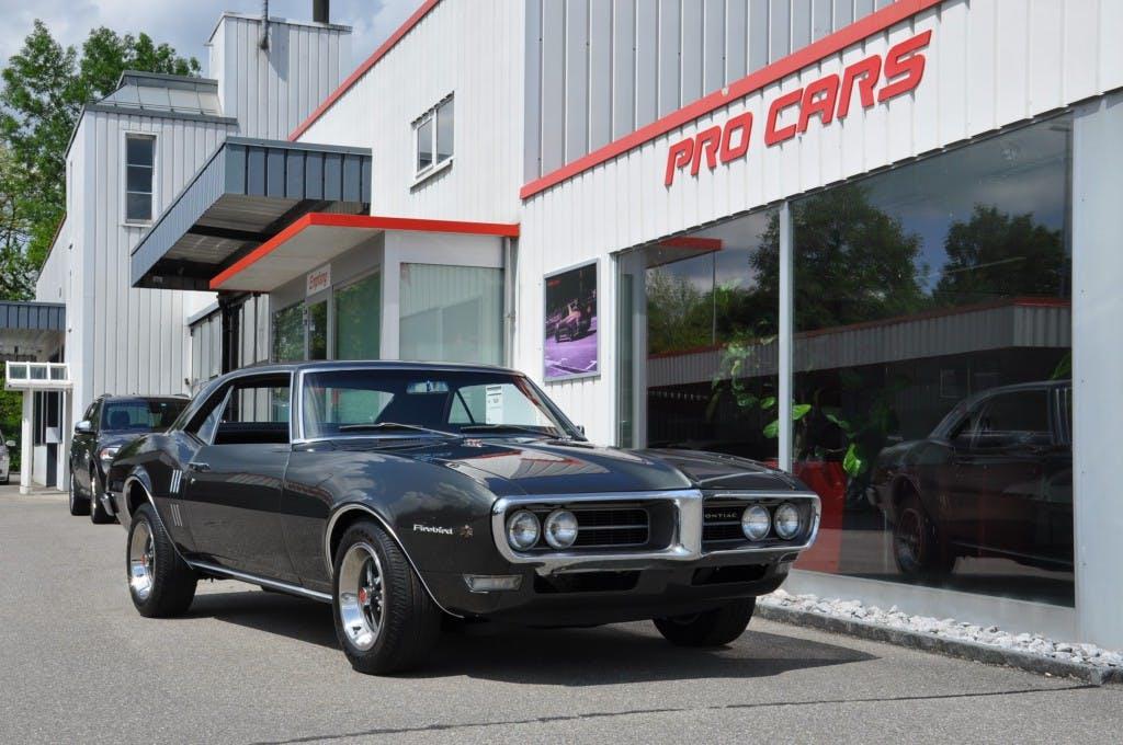 coupe Pontiac Firebird 350 V8 Matching Numbers mit Handschaltgetriebe