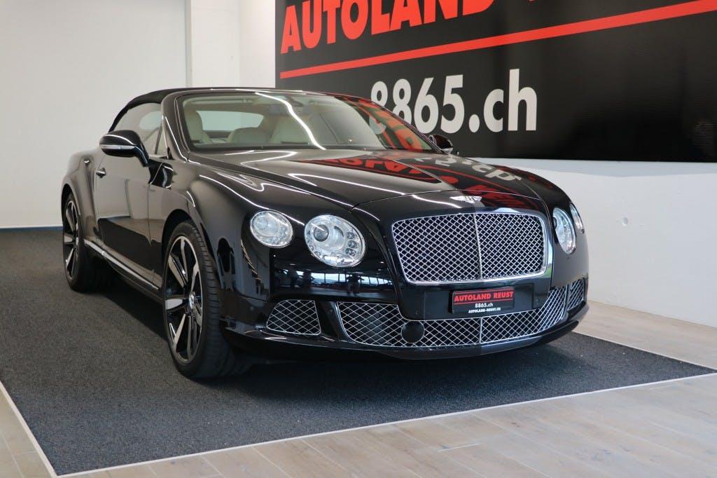 cabriolet Bentley Continental GTC 6.0 W12