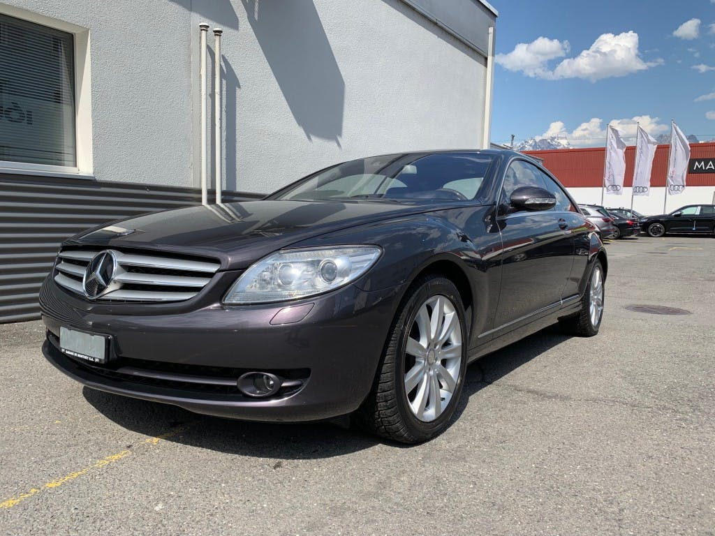 coupe Mercedes-Benz CL 500 7G-Tronic