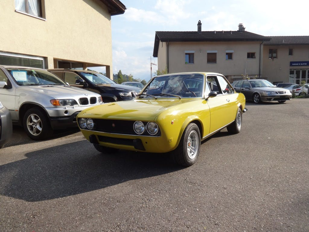coupe Fiat 124 BC1 1600 Sport Abarth