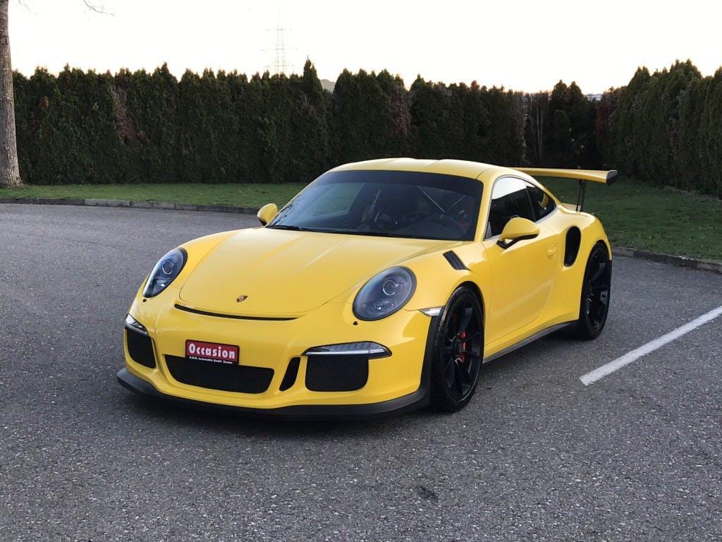 coupe Porsche 911 GT3 RS PDK