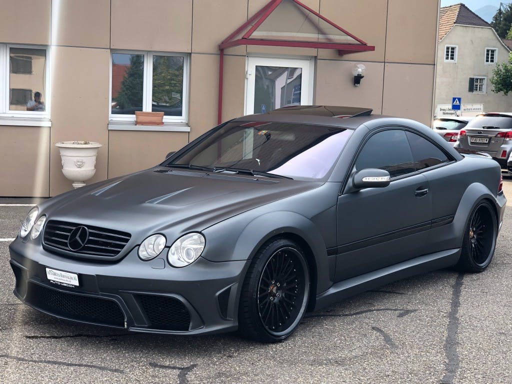 coupe Mercedes-Benz CL 55 AMG Automatic