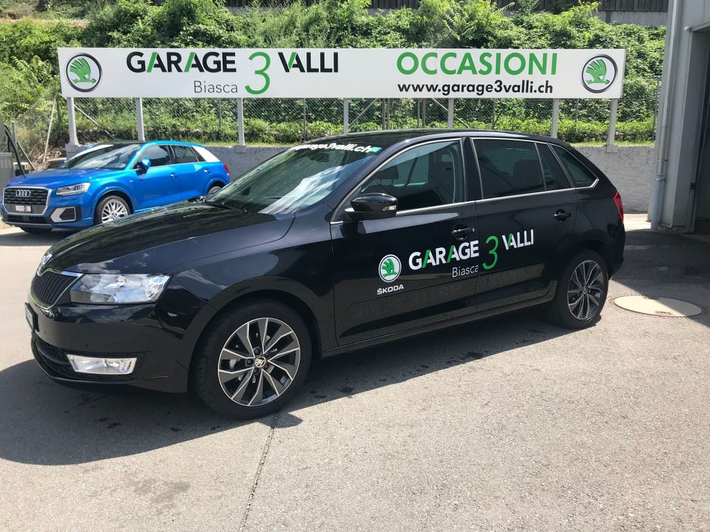 estate Skoda Rapid Spaceback 1.2 TSI Swiss Line 25