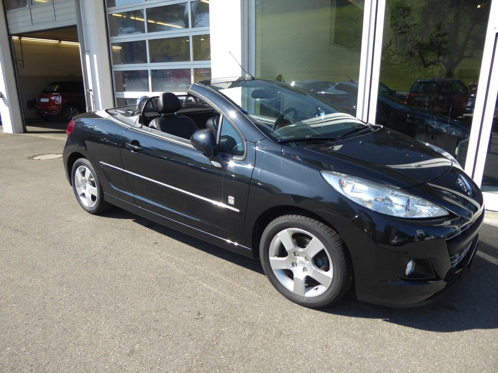 cabriolet Peugeot 207 CC 1.6 16V Turbo Swiss Edition