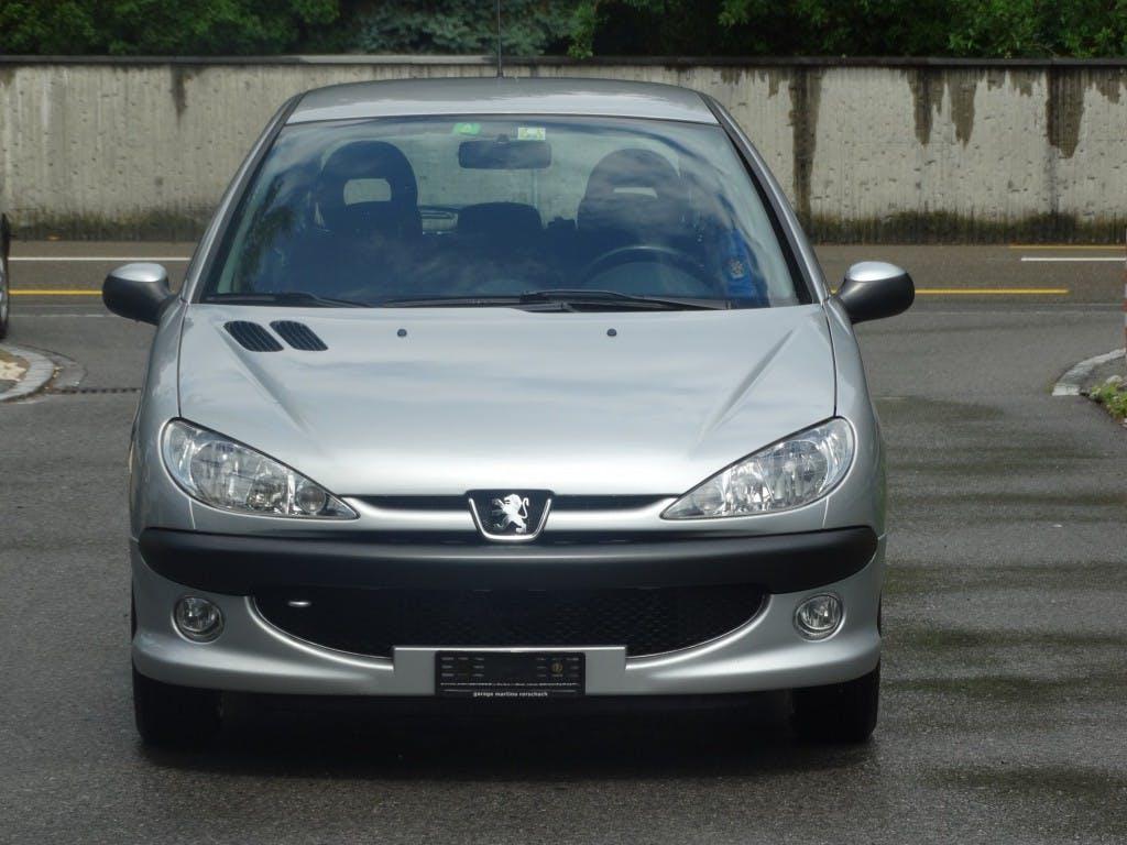 saloon Peugeot 206 1.4 HDI Look