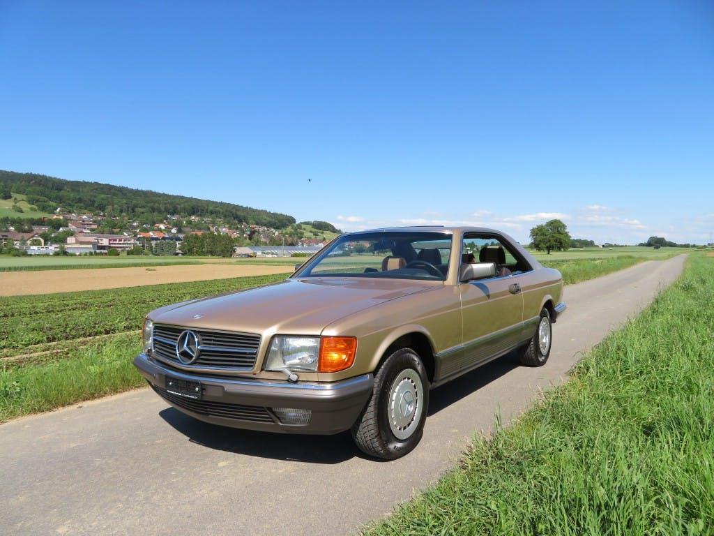 coupe Mercedes-Benz 500 SEC Automatic