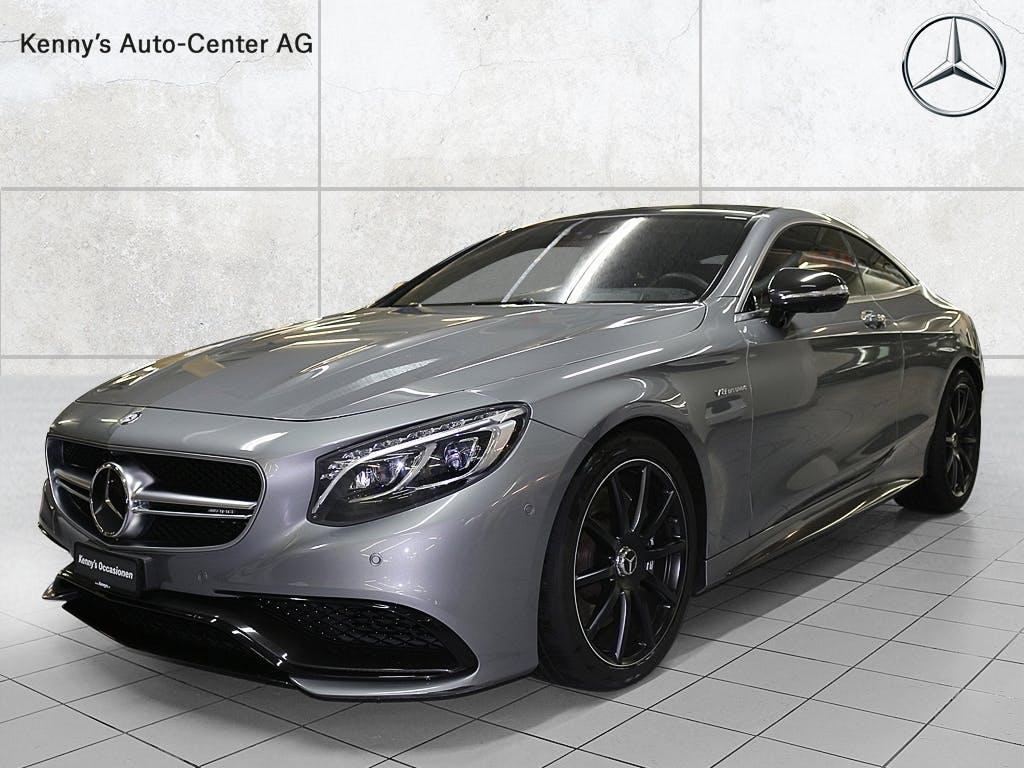 coupe Mercedes-Benz S-Klasse S 63 AMG V8 4Matic Coupé